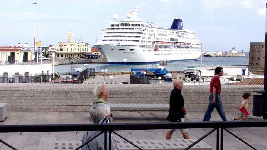 Ceuta incrementa un 1.100 % el tráfico de pasajeros de cruceros este año