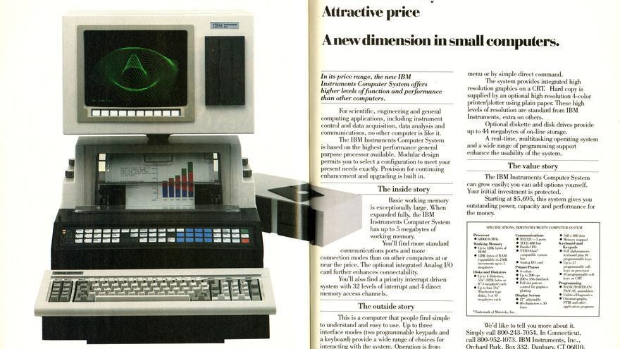 IBM Instruments Computer System