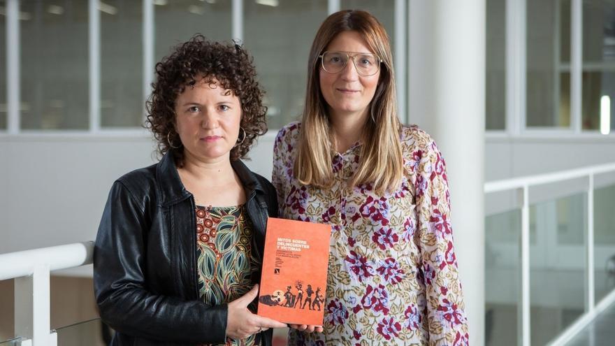 Dos profesoras de la UPNA cuestionan en un libro los mitos en torno a las figuras del 'delincuente' y la 'víctima'