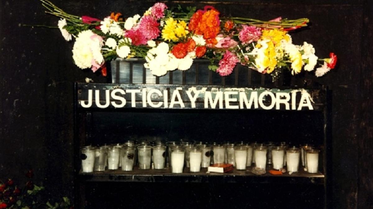 """El presidente de la AMIA, Ariel Eichbaum, renovó hoy el reclamo de """"justicia y castigo a los culpables"""""""