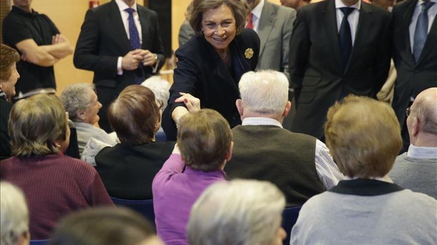 La Reina Sofía preside el Concierto del Reciclaje para enfermos de alzhéimer