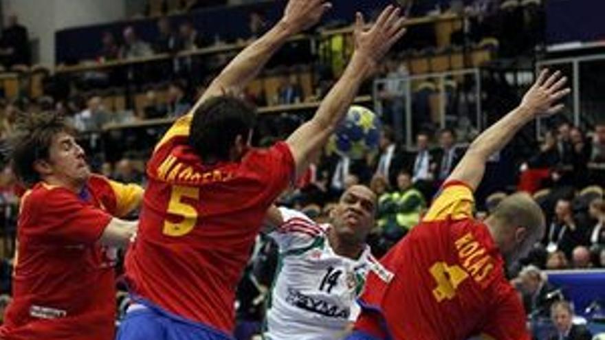 Derrota española en el mundial de balonmano. (EUROPA PRESS)