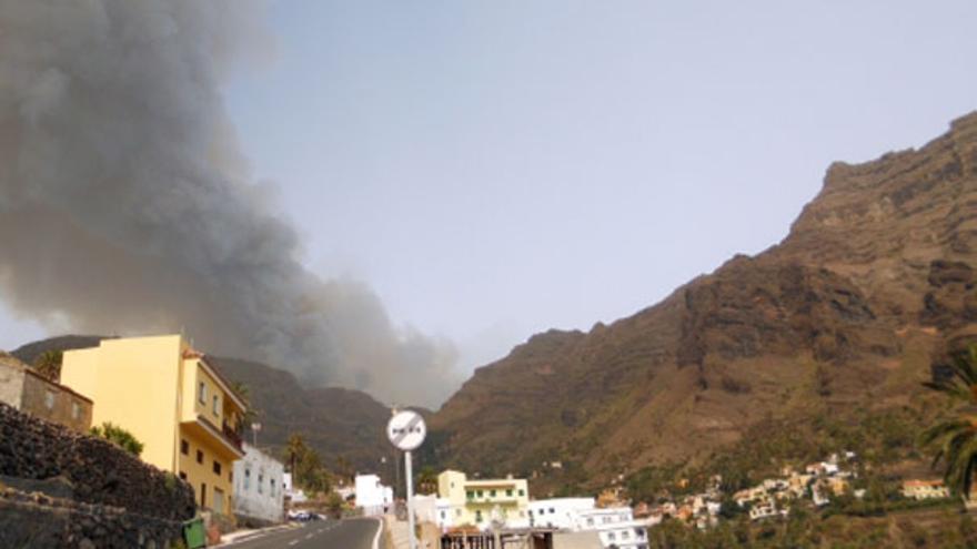 Del incendio en La Gomera #3