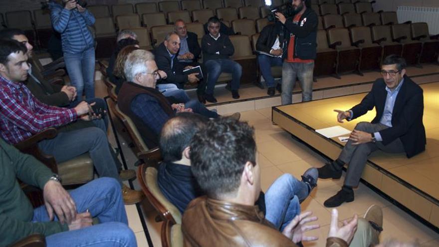 Patxi López defiende la vigencia del carbón en el mix energético nacional