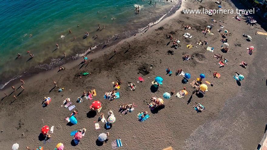 Imagen del Spot de Turismo de La Gomera sobre Valle Gran Rey