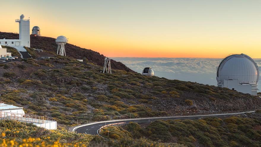 Observatorio del Roque de Los Muchachos, en las cumbres de Garafía.