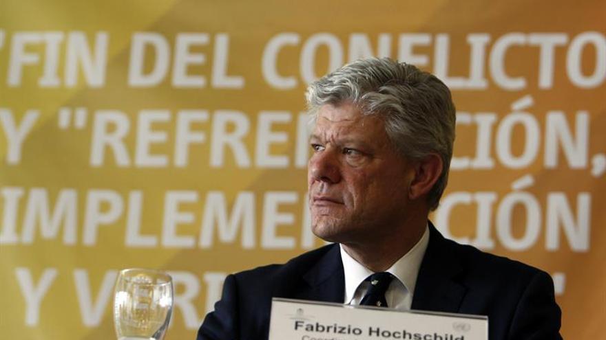 Chileno Hochschild, nuevo coordinador residente de la ONU en R.Centroafricana