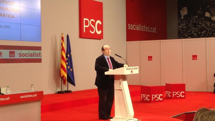 Iceta (PSC) asegura que los socialistas y la vía federal resolverán la situación