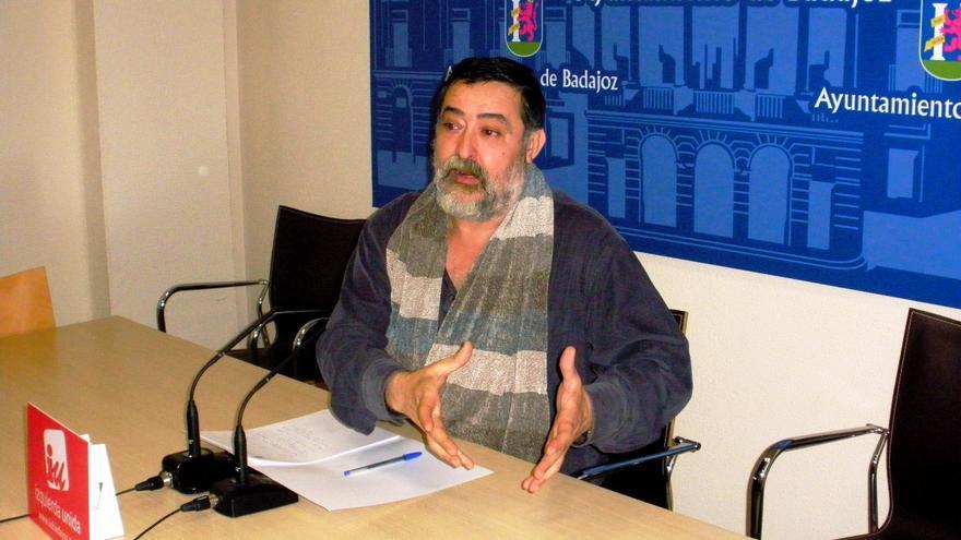 Manuel Sosa, Izquierda Unida Badajoz