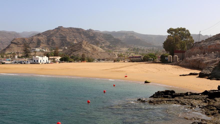 Playa de Anfi Tauro remodelada