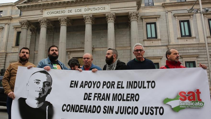 Podemos pide frenar la entrada en prisión de un condenado por rodear el Congreso hasta que hable el Tribunal Europeo