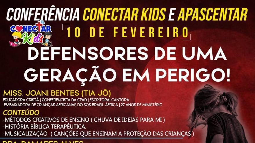 Banner publicitario para el proyecto Connect Kids. Reproducción.