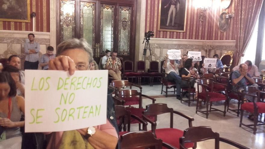 """Participa lamenta que en la capital """"se sorteen derechos sociales como el acceso a una vivienda"""""""