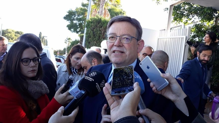 """Puig dice que la multa de la UE por manipulación del déficit en la Comunitat valenciana es la """"herencia"""" del PP"""