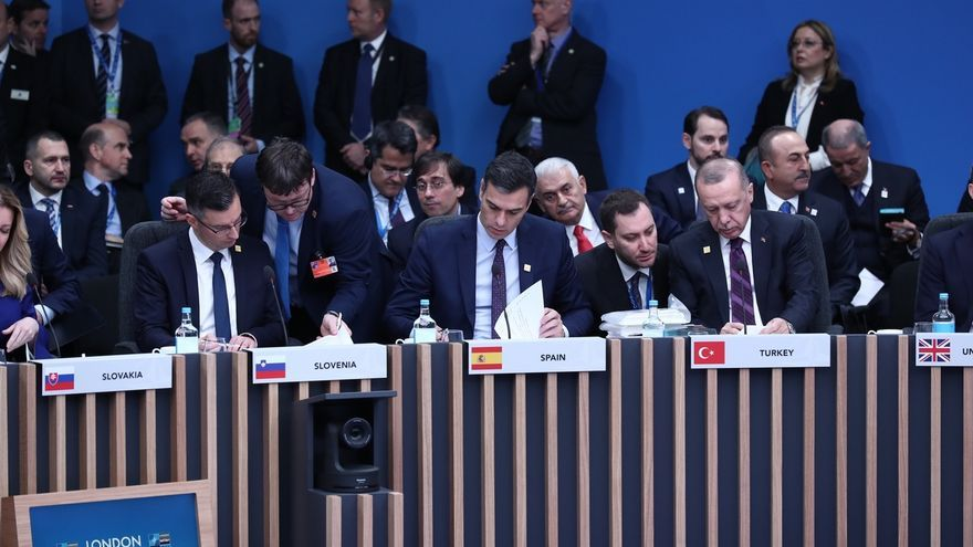 """Sánchez pide a la OTAN """"cohesión y unidad"""" para reflexionar sobre su futuro"""
