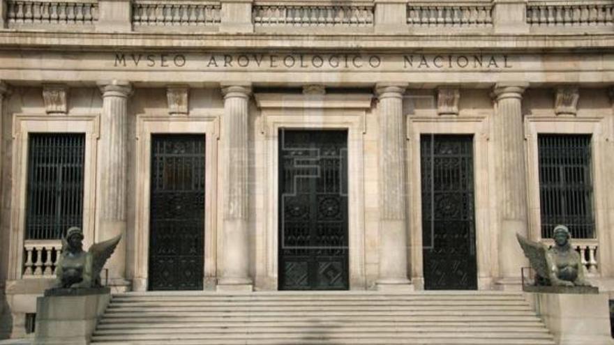 Fachada del Museo Arqueológico Nacional (MAN), en Madrid. EFE/Archivo