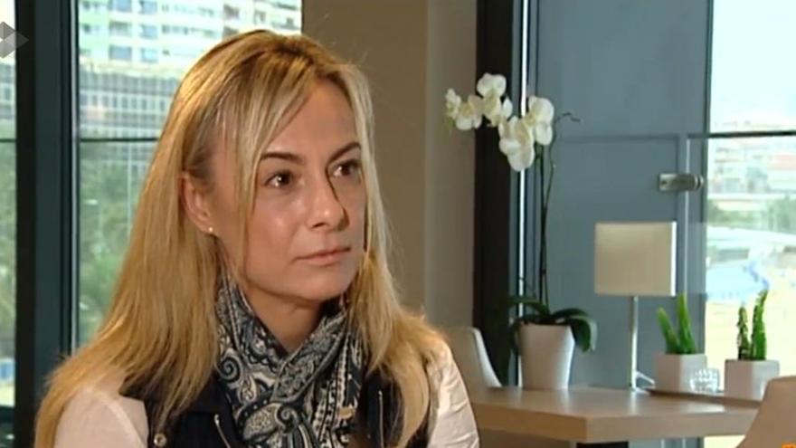 La exalcaldesa de Alicante, Sonia Castedo, en el programa de Antena 3 Espejo Público