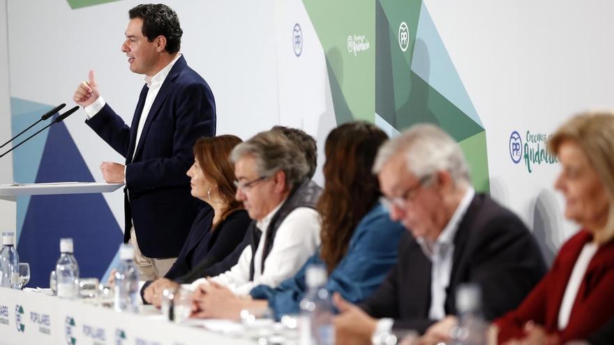 """Moreno, """"especialmente orgulloso"""" del trabajo de Báñez y Zoido, critica la moción de censura """"injusta y temeraria"""""""