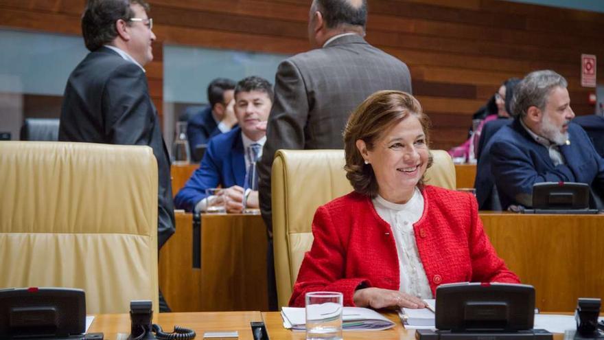 Pilar Blanco-Morales, vicepresidenta de la Junta y consejera de Hacienda