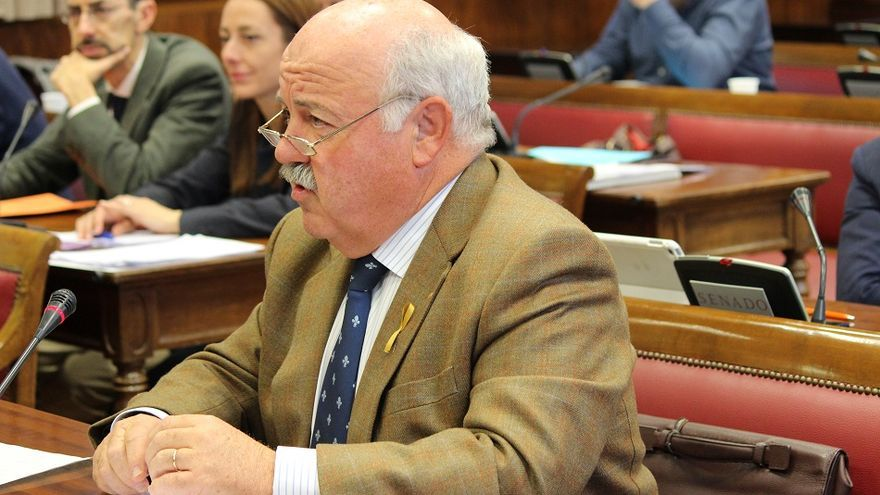 Jesús Ramón Aguirre Muñoz, miembro del Partido Popular.