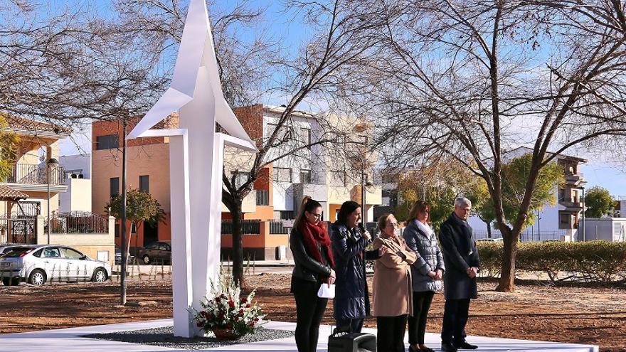 Imagen de la inauguración del monumento