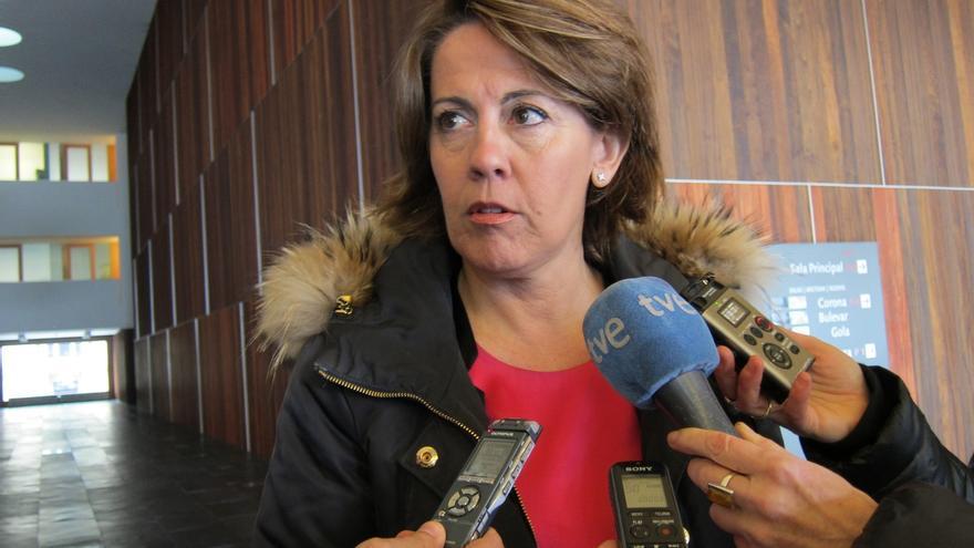 """Barcina afirma que la encuesta del CIS son """"tendencias"""" y que """"falta todavía tiempo para las elecciones"""""""