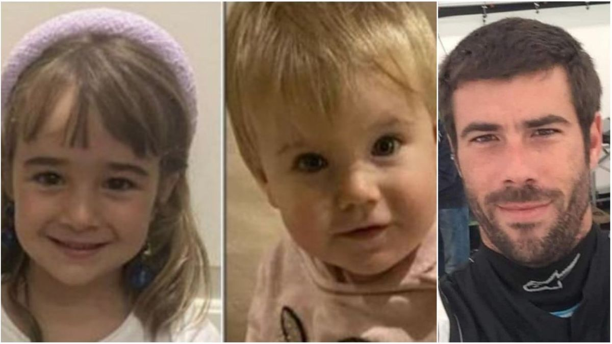 Olivia, Anna y su padre, Tomás Gimeno