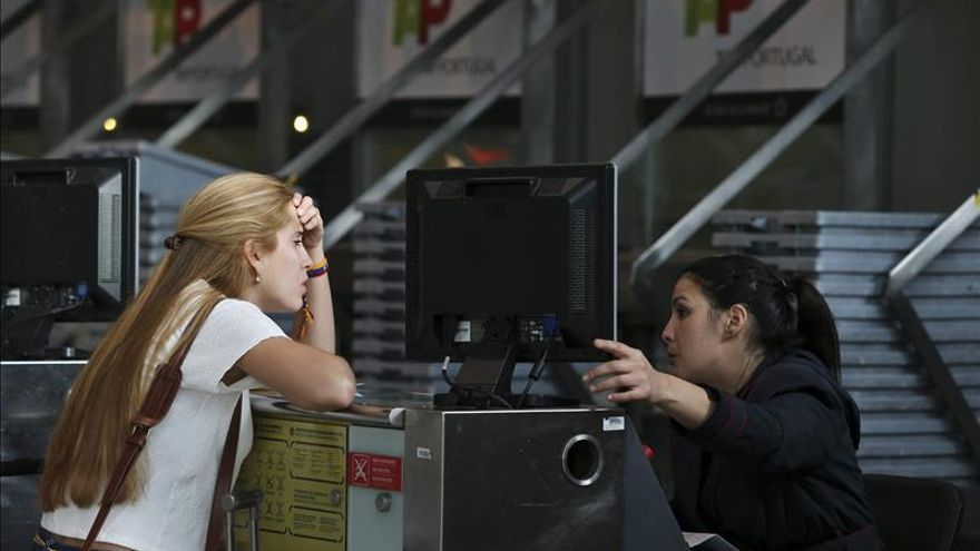 La aerolínea TAP suprime por la huelga 52 de los 191 vuelos previstos hoy
