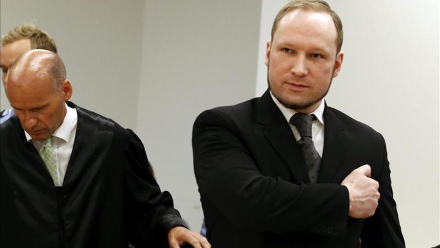 El Defensor del Pueblo noruego alerta de que Breivik puede sufrir un trato inhumano