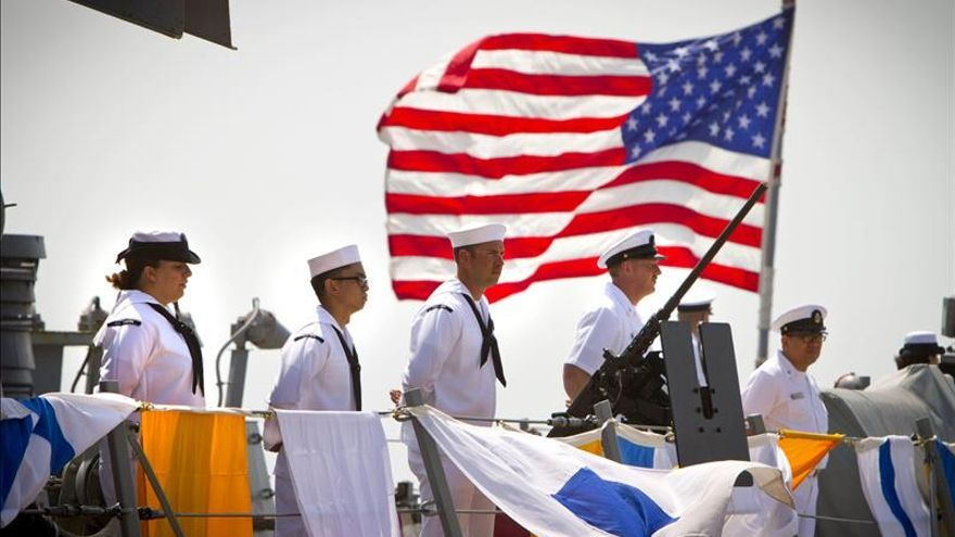 La base de Rota recibe al segundo destructor norteamericano