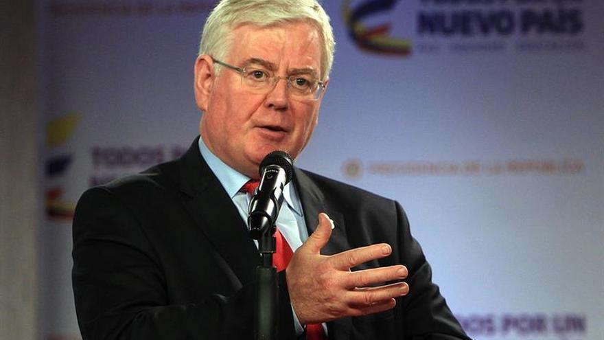El enviado de la UE para el proceso de paz inicia el martes su quinta visita a Colombia