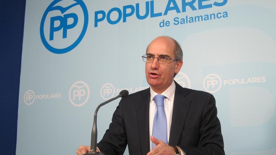 """Presidente Diputación Salamanca (PP): el pacto Sánchez-Rivera promueva que haya """"ciudadanos de segunda"""""""