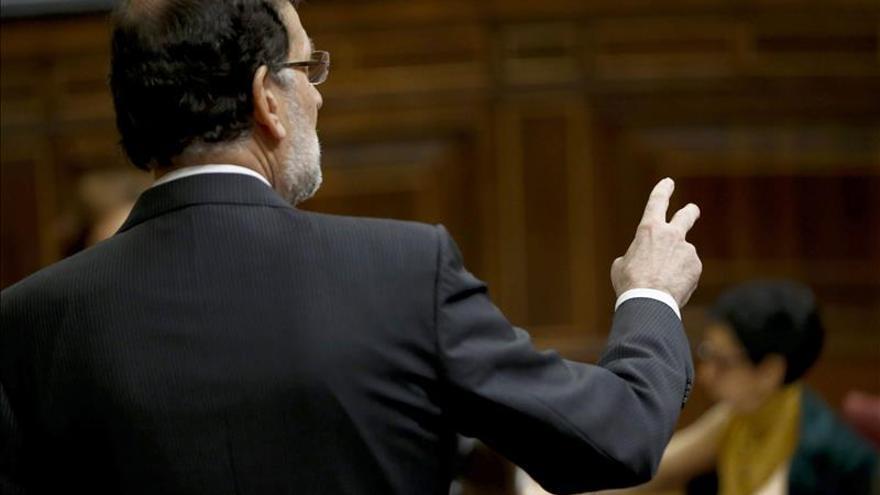 Rajoy dice que su política educativa y de empleo ha disminuido la desigualdad