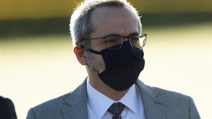 En la imagen, el exministro de Educación de Brasil Abraham Weintraub.