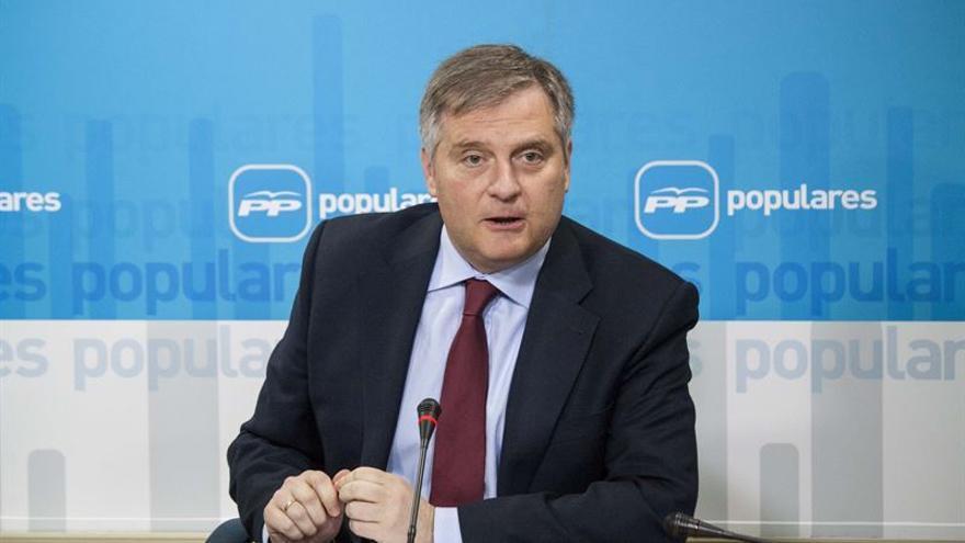 Francisco Cañizares, portavoz del PP en las Cortes de Castilla-La Mancha