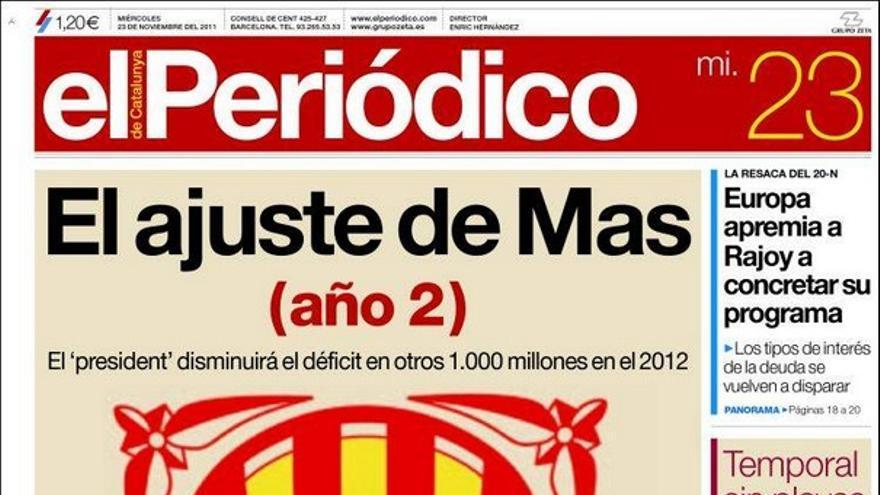 De las portadas del día (23/11/2011) #10
