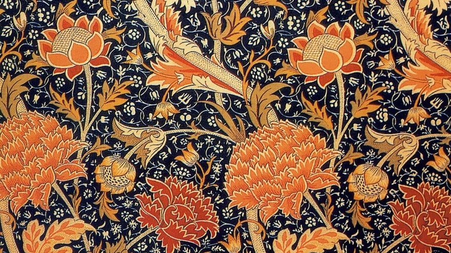 William Morris, Cray Textile, 1883–4| www.tate.org.uk