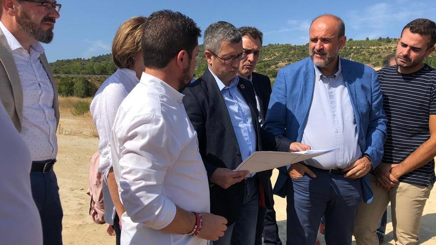 José Luis Martínez Guijarro con el secretario de Estado de Medio Ambiente, Hugo Morán