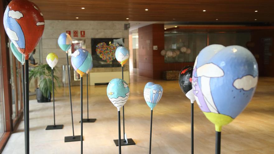Esculturas de la muestra 'Valorarte'