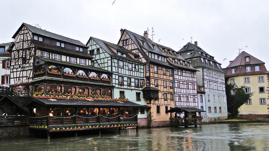 Fachadas de la 'Pequeña Francia' de Estrasburgo. Alexandre Prévot (CC)