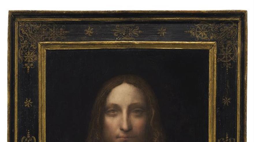 Un cuadro de Da Vinci es subastado en Nueva York por 450,3 millones de dólares