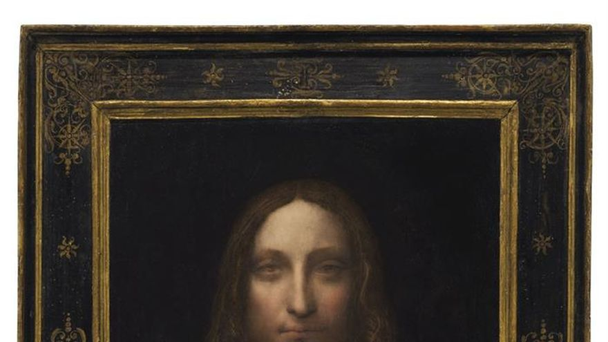 'Salvator Mundi', pintado por Leonardo da Vinci hace cinco siglos