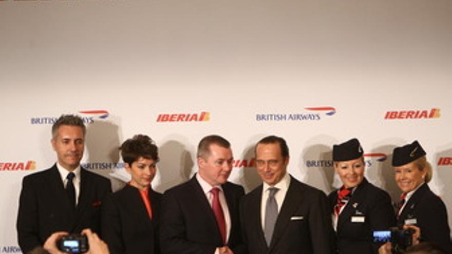 Fusión de British Airways (BA), e Iberia