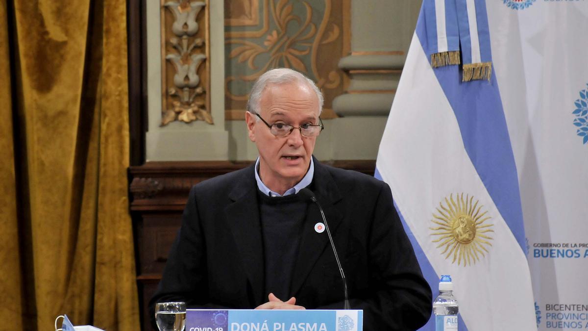 Daniel Gollan asumió el ministerio de Salud bonaerense en diciembre de 2019.