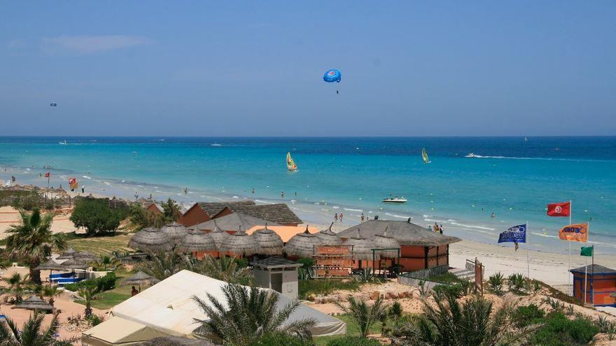 Gracias a sus largas playas, Hammamet se ha convertido en una de las localidades más turísticas del país.