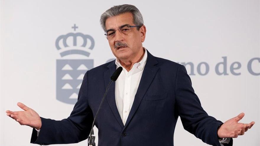 El vicepresidente de Canarias, Román Rodríguez.