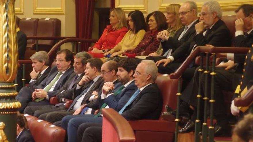 40 aniversario de la Constitución en las Cortes Generales