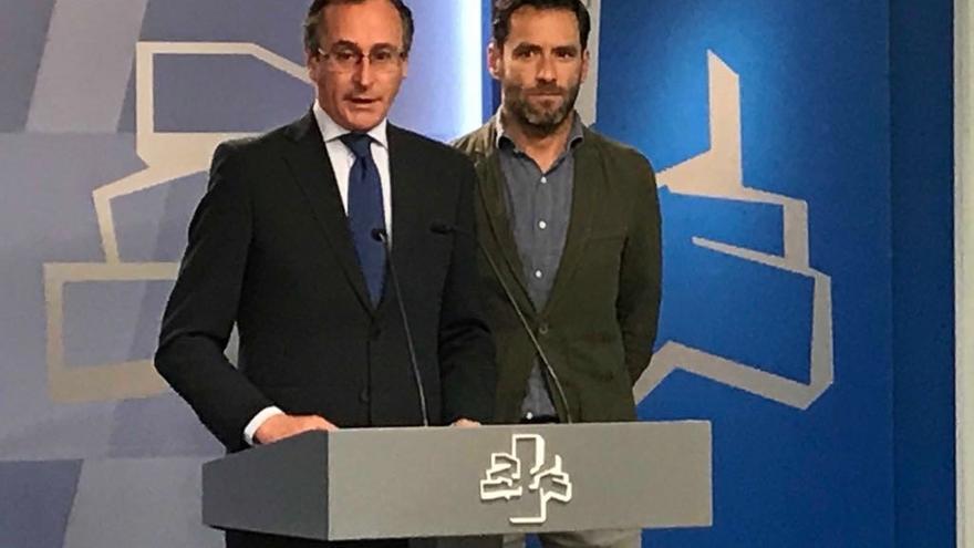 """Alonso asegura que Sáenz de Santamaría es """"la mejor garantía de poder ganar"""" unas elecciones generales"""