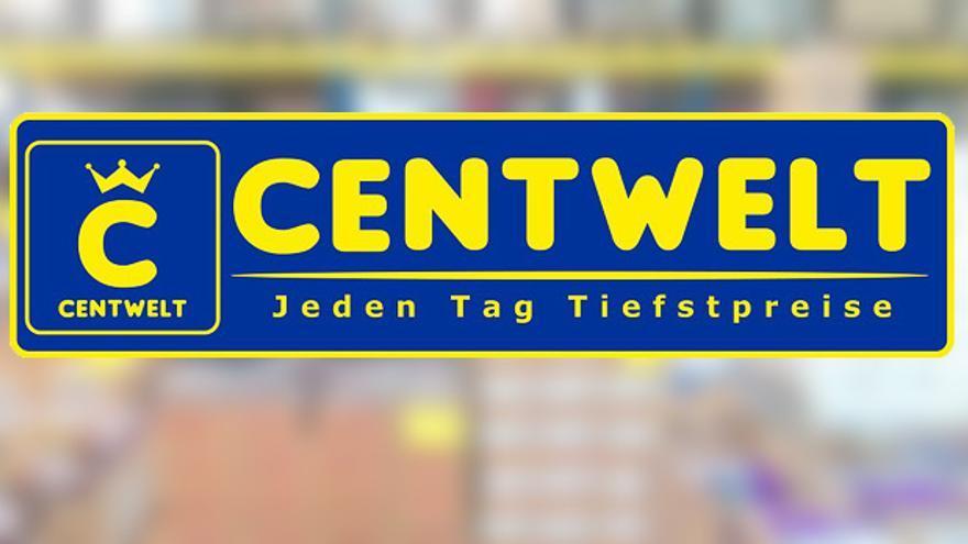 Logo de los supermercados Centwelt de la compañía rusa TS-Markt.