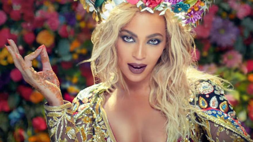 Beyoncé en el videoclip